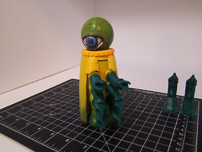 "Custom 3D printed 5"" scale Doctor Who action figure - Alpha Centauri - Dr. Who"