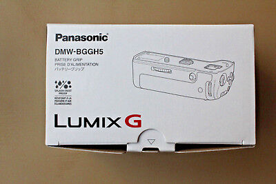 Panasonic DMW-BGGH5 Battery Grip w/ Charger and 2 Batteries