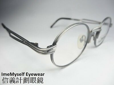 [ ImeMyself Eyewear ] Jean Paul Gaultier 55-7107 vintage round frame for optical
