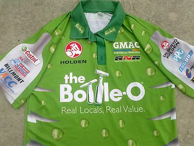 Awesome HOLDEN - the bottle O   Rod NASH # 55 V8 supercars polo shirt  - XL