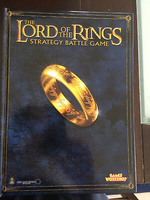 Games Workshop The Lord Of The Rings Strategy Battle Game Rule Books
