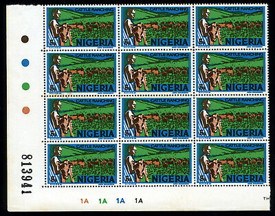 Nigeria 1975-82 Mnh Litho Sg.341 ***watermark*** Cattle-Ranching