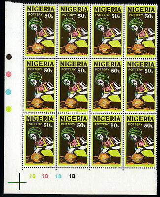 Nigeria 1975-82 Mnh Litho Sg.352 ***watermark*** Pottery