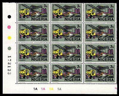 Nigeria 1975-82 Mnh Litho Sg.340 ***watermark*** Cement Works