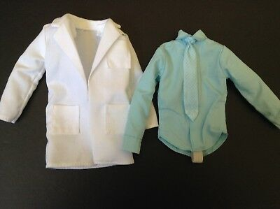 Barbie Ken Doll Twilight Carlisle Outfit Coat & Shirt Only