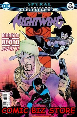 Nightwing #27 (2017) 1St Printing Dc Universe Rebirth Bagged & Boarded