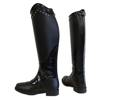 Horka Donna ADULTS Boot Diamante Horse Riding Boots Size 2UK-6.5UK
