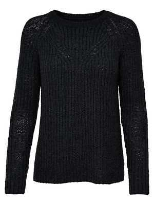 Only Pullover Maglia Manica Lunga Donna Blu Notte 15146644-NIGHT SKY