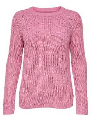 Only Pullover Maglia Manica Lunga Donna Rosa 15146644-BEGONIA PINK