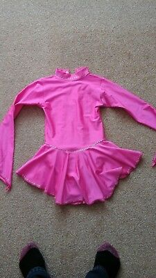 girls ice skating dress size 2 Tappers and pointers