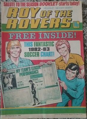 Roy Of The Rovers 14th August 1982