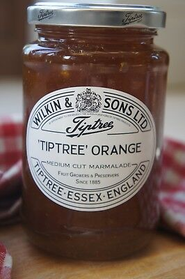 **WILKIN & SONS LTD** Tiptree 'Tiptree' Orange Medium Cut Marmalade 454g Jar X 2