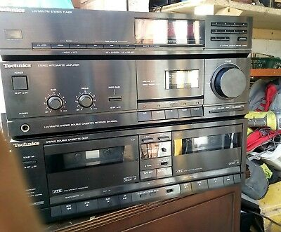 Technics SA-X900L Stereo Double Cassette Receiver, Tuner & Integrated Amplifier