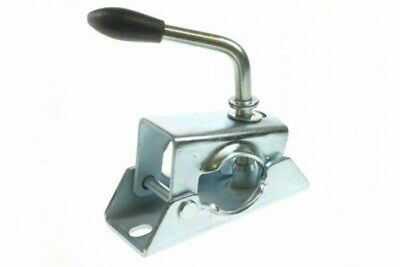 Split Clamp 48Mm, Pressed Steel Trailer Jockey Wheel, Prop Stand, Maypole Mp424
