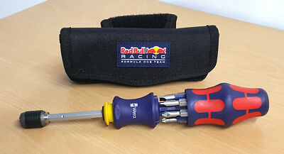 WERA Kraftform Kompakt 20 - Red Bull Edition - Magazin-Schraubendreher 1/4""