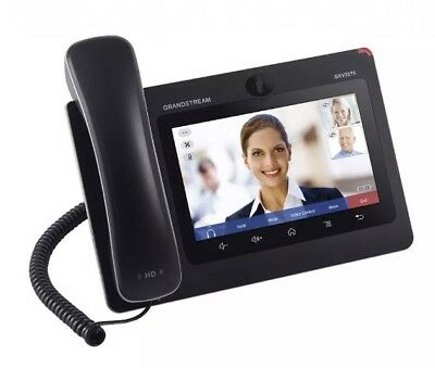 "W5, Grandstream GXV3275 Multimedia IP Phone for Android HD 6 Line 7"" Screen"