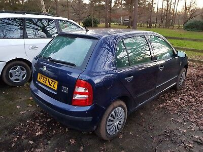 52 plate Skoda Fabia 1.4 8V-101k miles-A/C-starts and drives