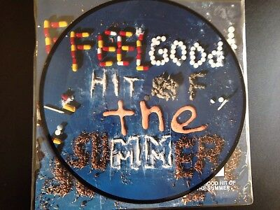 """Queens Of The Stone Age - Feel Good Hit Of The Summer - 10"""" Picture Disc - Mint!"""