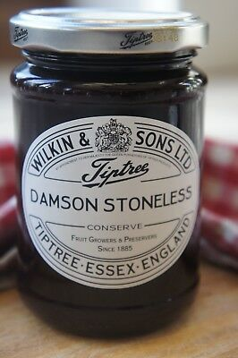 **WILKIN & SONS LTD** Tiptree Damson Stoneless Extra Jam 340g Jar