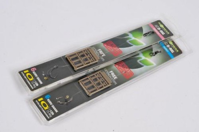 Korda Ready Tied IQ D-Rigs - Pack of 5 - All Sizes - Barbed or Barbless