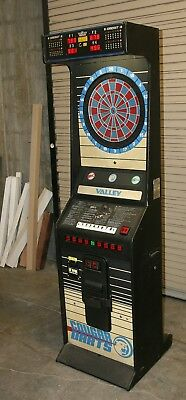 Valley Cougar coin operated dart game in nice condition - works well