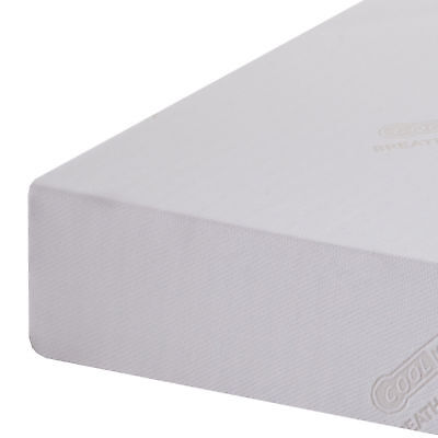 Cool-Max Memory Foam Orthopaedic Roll Up Mattress Single Double King & SuperKing