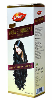 Maha Bhringraj Hair Oil from Dabur for Long Strong & Lustrous Hair 300ml