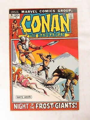 Conan The Barbarian #16 (1972) Barry Windsor Smith VF/NM 9.0 Marvel Comics CC312