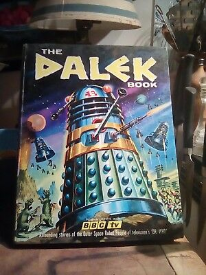 Dr Who The Dalek Book 1964 By David Whitaker and Terry Nation Panther Books.