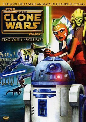 526040it Star Wars - The Clone Wars - Stagione 01 #02 (DVD)