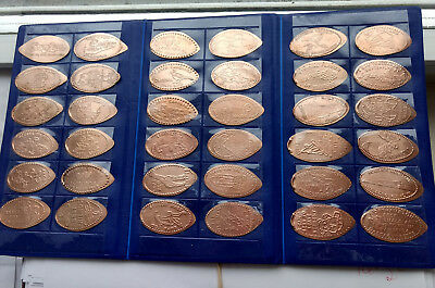 Selling My Elongated Copper Penny Collection in Souvenir Book