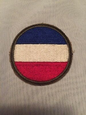 Original Ww2 Us Army Ground Forces Cut Edge Patch ~ No Glow