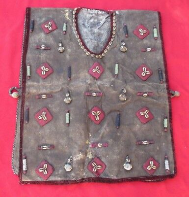 African Bambara Tribe Ritual Shaman ~ Sorcerer Bulletproof Vest With Amulets