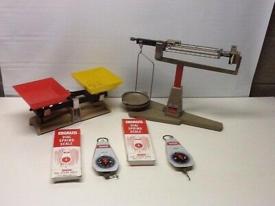 Lot of 4 Ohaus Scales