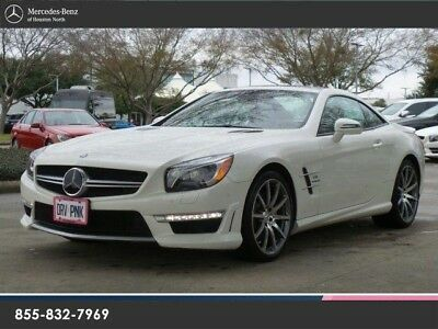 2014 Mercedes-Benz SL-Class Base Convertible 2-Door L63 AMG ROADSTER, MB CERTIFIED WARRANTY, CLEAN 1 OWNER!!!