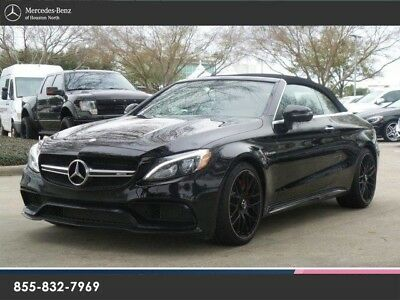 2017 Mercedes-Benz C-Class  C63S AMG CABRIOLET, MB CERTIFIED WARRANTY, CLEAN 1 OWNER!!!