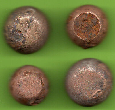 ANCIENT VIKING BRONZE-IRON TRADER WEIGHT ca 10-12 century AD SET OF 4 pc. 289