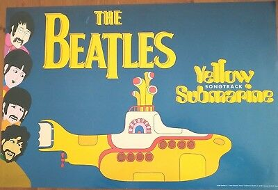 The Beatles-Yellow Submarine Sound Track Poster 1999  60cm x 40cm