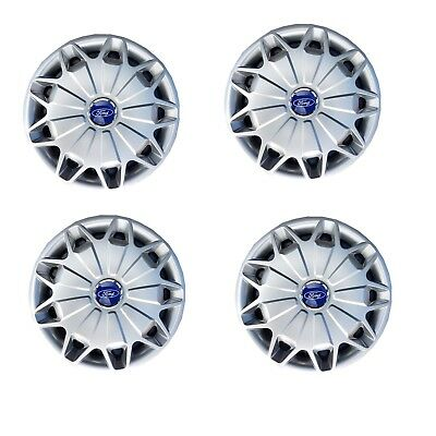 "16"" Wheel Trims To Fit Ford Transit Mk8 Set Of 4 2013 2014 2015 2016 2017 2018"