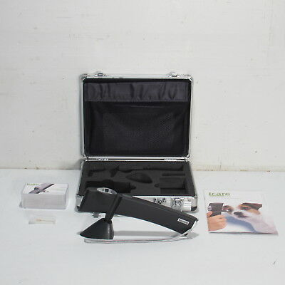 iCARE TONOVET TV01 VETERINARY TONOMETER WITH PROBES, MANUAL AND CASE