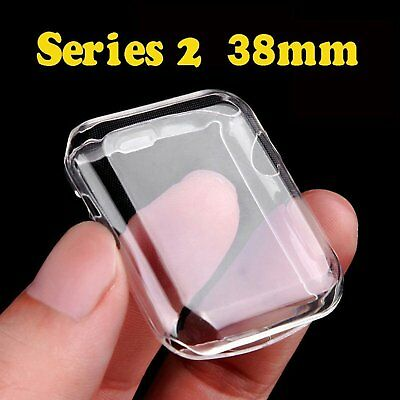 Apple Watch 2 Screen Protector Iwatch Case TPU Ultra Thin 0.3mm Cover For 38mm