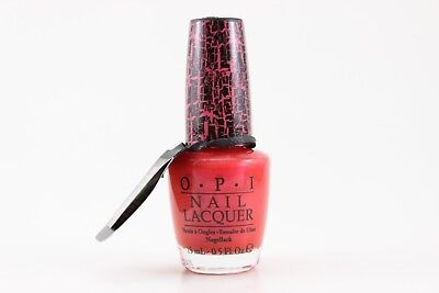 NLE58 - OPI Nail Lacquer - Pink Shatter .5oz