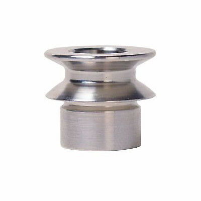 """Stainless 1/2"""" Misalignment Spacer 3/8"""" Bore 1/4"""" Height"""