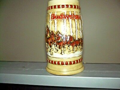 Budweiser 1981 Second Holiday Stein