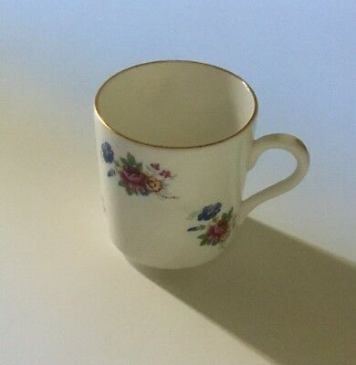 Vintage Royal Grafton Numbered Gold Rimmed Demitasse Fine Bone China Made In Eng