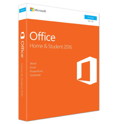 Microsoft Office 2016 Home & Student English