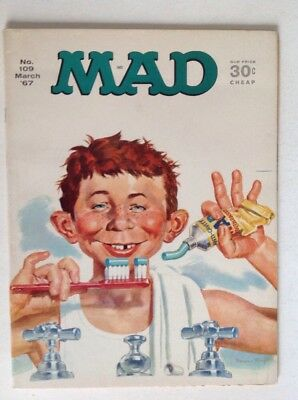 Mad Magazine #109 (March 1967) VG