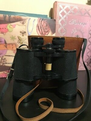 Vintage OPTEX Telescope With Leather Case
