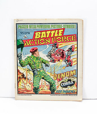 Battle Action Force Comic - 16th November 1985 - Very Good Condition