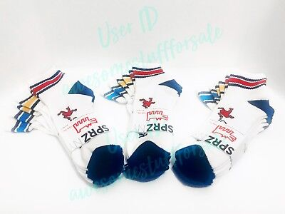 1PACK KEITH HARING xUNIQLO SPRZ NY 'Dancing Man.' 3 Pairs Pile Ankle Socks White